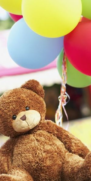 Balloons and Teddy Love