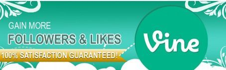 Gain thousands of Vine followers now!