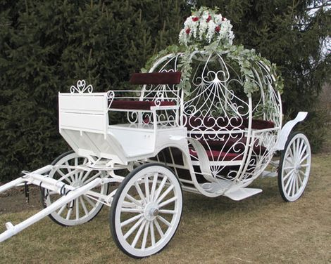 Cinderella Carriage - Weddings!