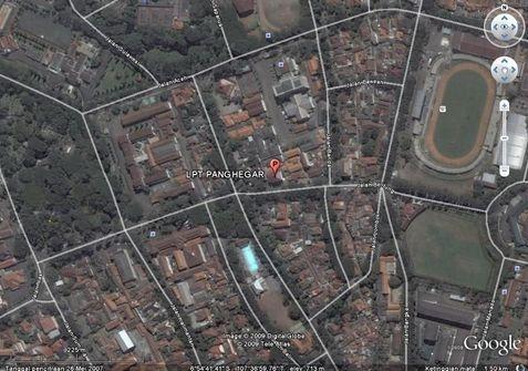 Maps - Lokasi LPT Panghegar Bandung