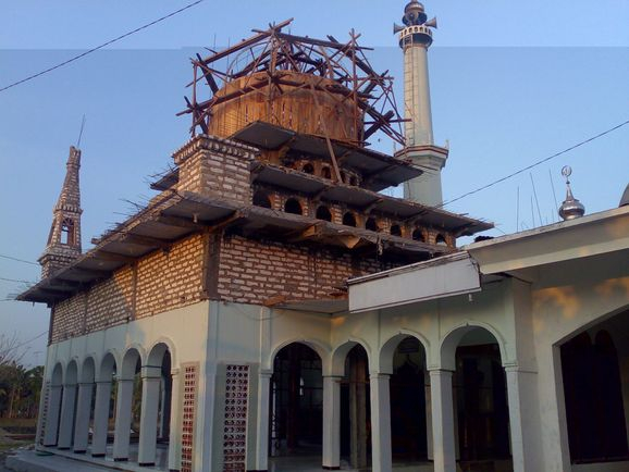 Bustanuddin Mosque still under upgrading