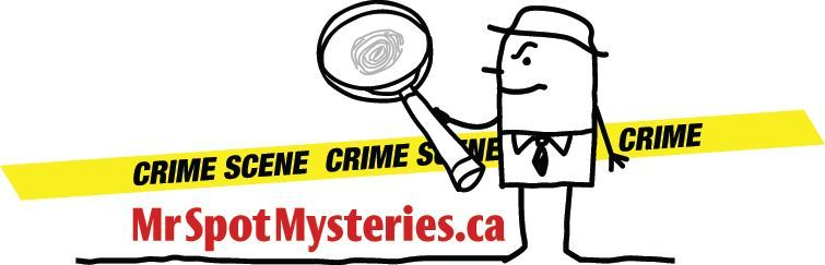 Mr Spot Mysteries: fun and mayhem, and great dining too.