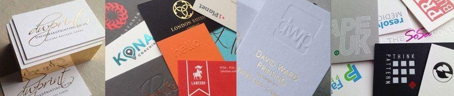 bespoke letterpress high quality business cards