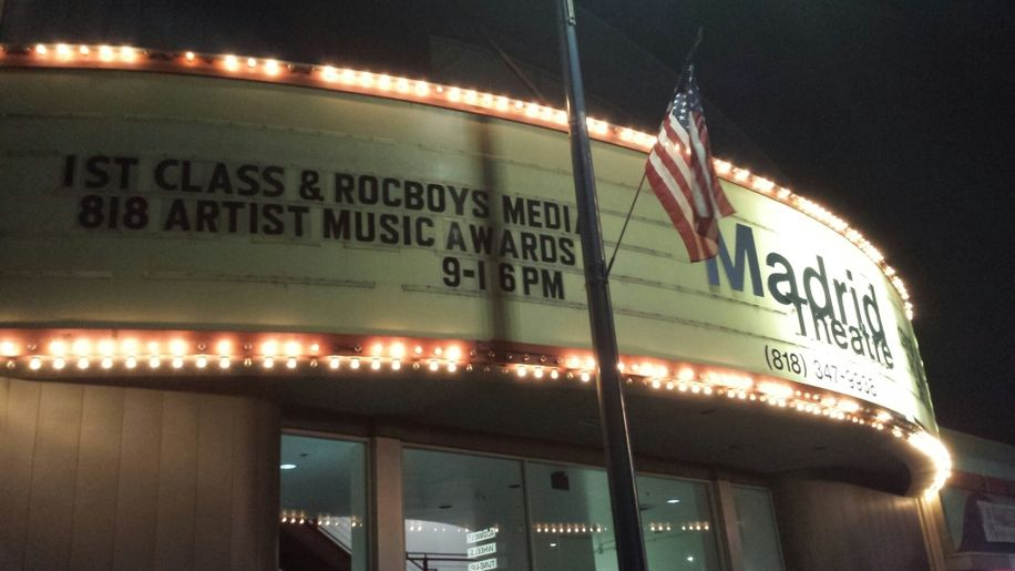 "The First Class/Rocboys Media ""818 Artist Music Awards"" Marquee"