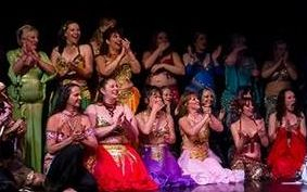 Photo of Phoenix Belly Dance Performance with Students