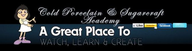 Cold Porcelain & Sugarcraft Online Academy